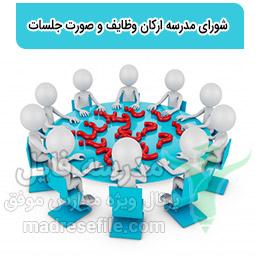 شورای مدرسه ارکان وظایف و صورت جلسات